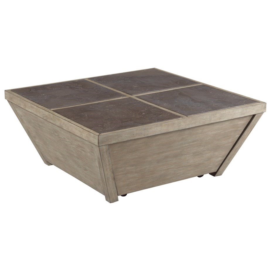 West End Square Coffee Table by Hammary at Darvin Furniture