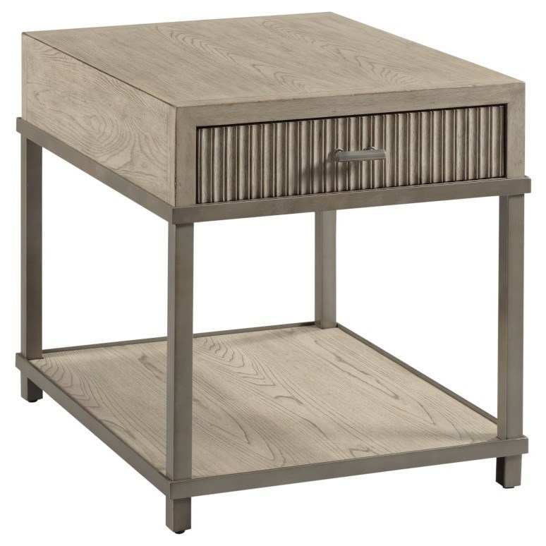 West Fork 924 End Table by Hammary at Crowley Furniture & Mattress
