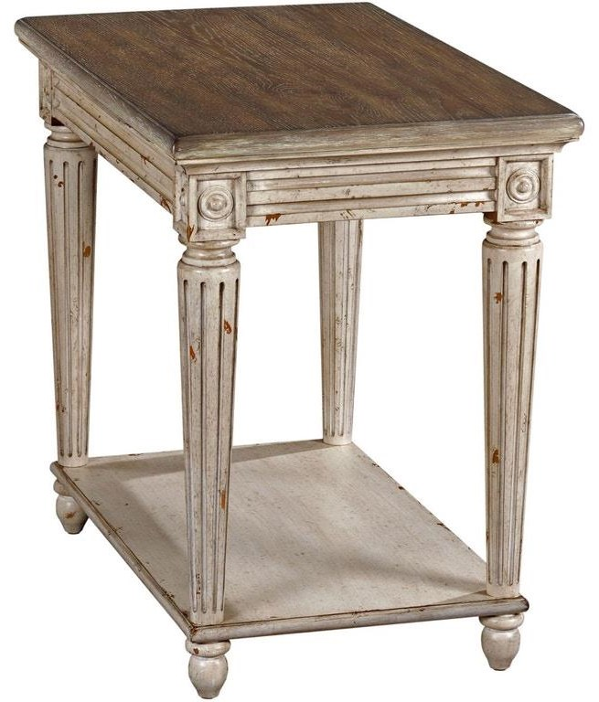 Westview Westview Chairside Table by Hammary at Morris Home