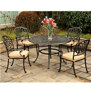 Hanamint Biscayne Outdoor Dining Set