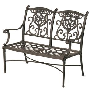 Hanamint Grand Tuscany Outdoor Bench