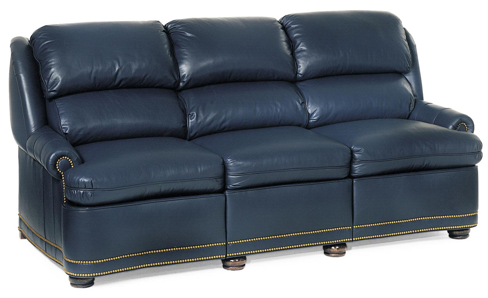 Austin Full Recline Sofa by Hancock & Moore at Jacksonville Furniture Mart