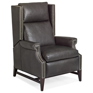 Marcus Push Back Recliner with Nailheads