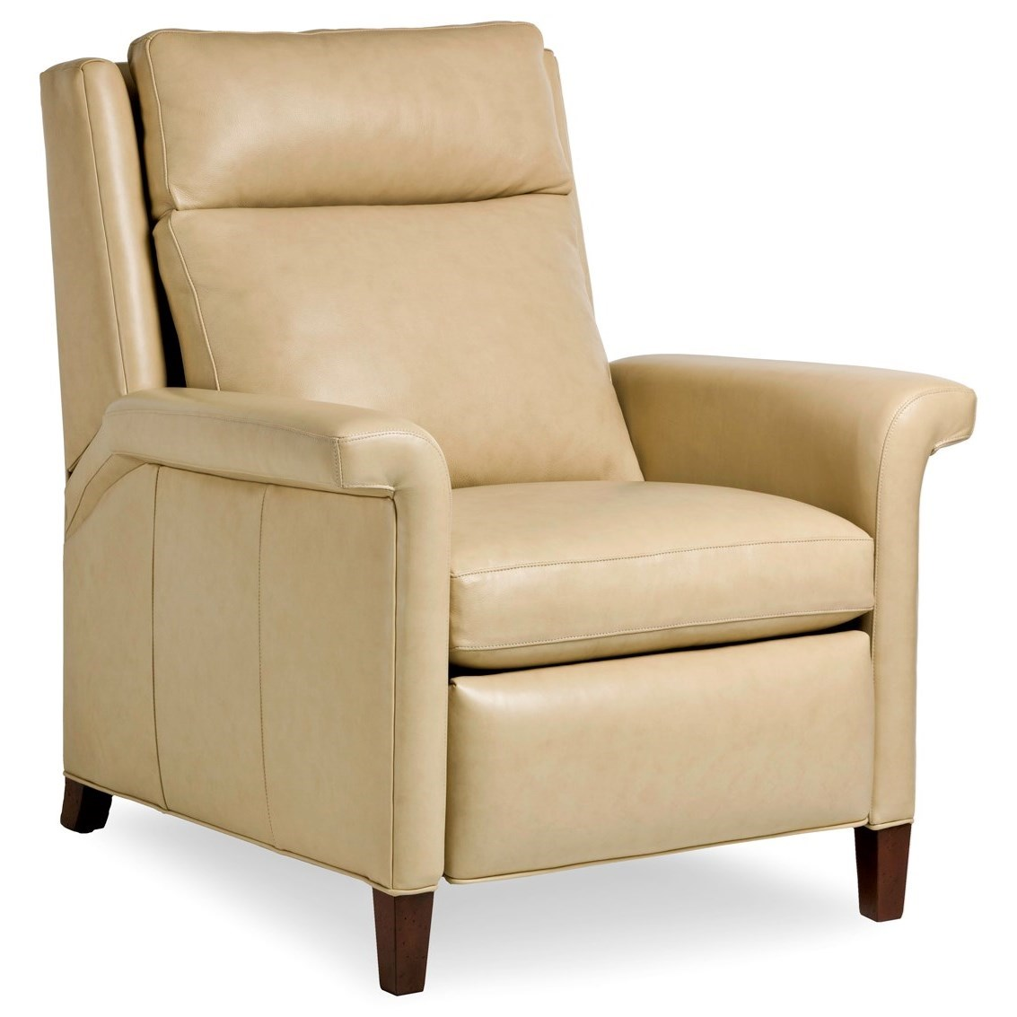 Motion Seating Push Back Recliner by Hancock & Moore at Jacksonville Furniture Mart