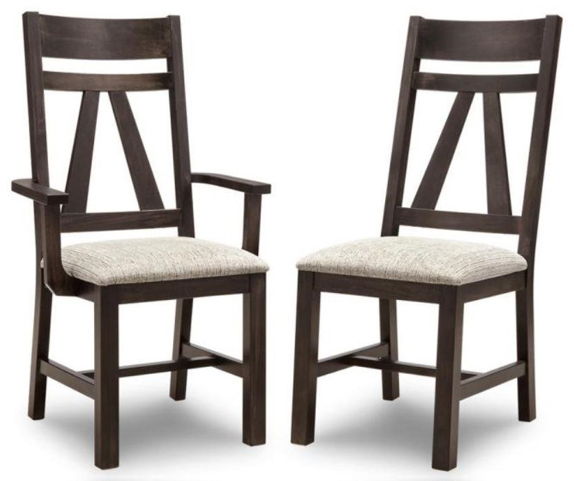 Algoma Side Chair by Handstone at Stoney Creek Furniture