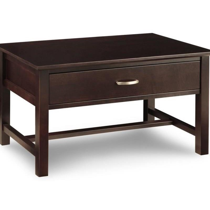 Brooklyn 1-Drawer Condo Coffee Table at Bennett's Furniture and Mattresses