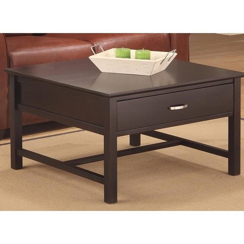 Brooklyn 1-Drawer Coffee Table by Handstone at Stoney Creek Furniture