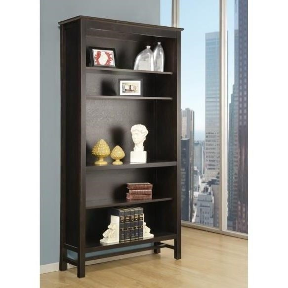"""Brooklyn 80"""" Bookcase by Handstone at Stoney Creek Furniture"""