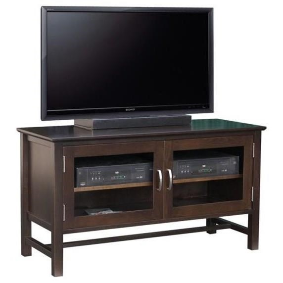 "Brooklyn 48"" HDTV Cabinet by Handstone at Jordan's Home Furnishings"