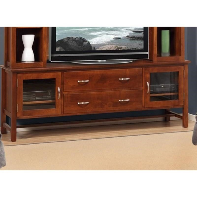 """Brooklyn 74"""" HDTV Cabinet at Bennett's Furniture and Mattresses"""