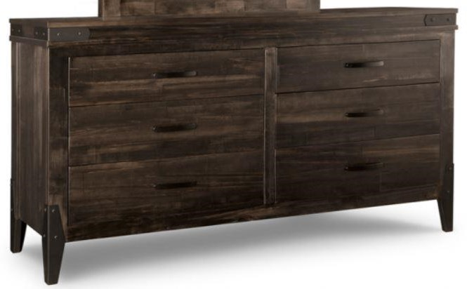 Chattanooga Six Drawer Dresser by Handstone at Stoney Creek Furniture