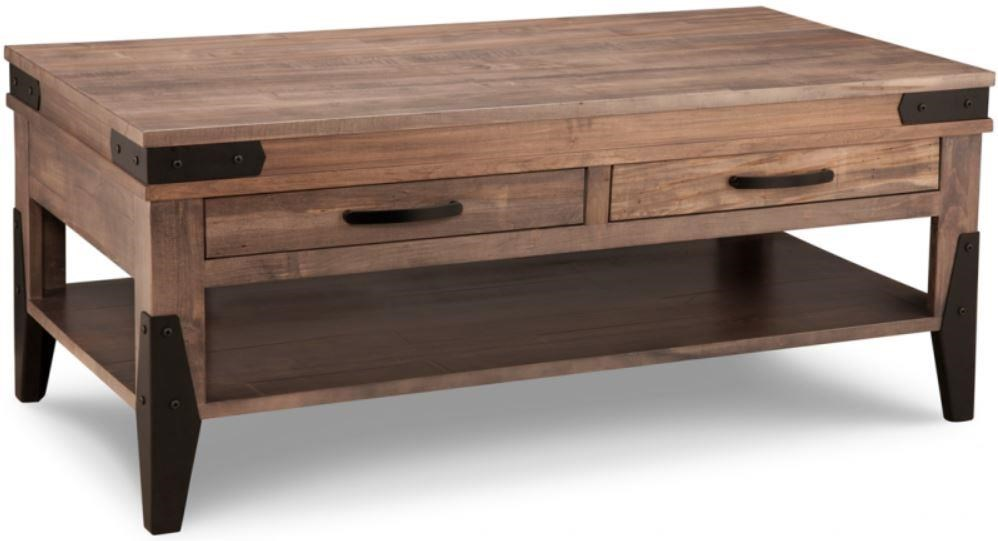 Chattanooga Rectangle Cocktail Table by Handstone at Stoney Creek Furniture