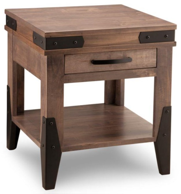Chattanooga End Table by Handstone at Stoney Creek Furniture