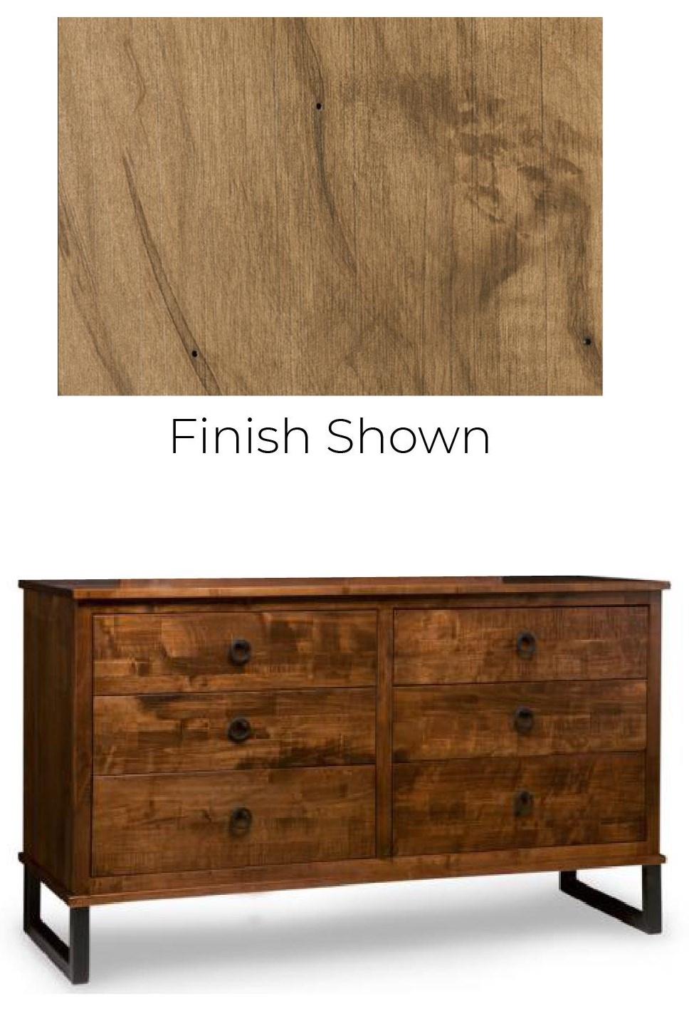 Cumberland Solid Maple Dresser at Bennett's Furniture and Mattresses