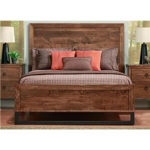 Solid Maple Queen Bed