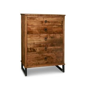Solid Maple High Boy Chest