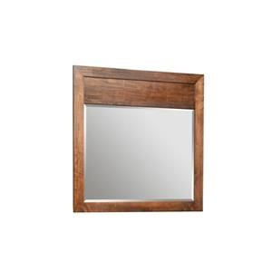 Solid Maple Landscape Mirror