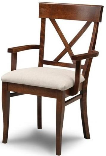 Florence X Back Arm Chair at Bennett's Furniture and Mattresses