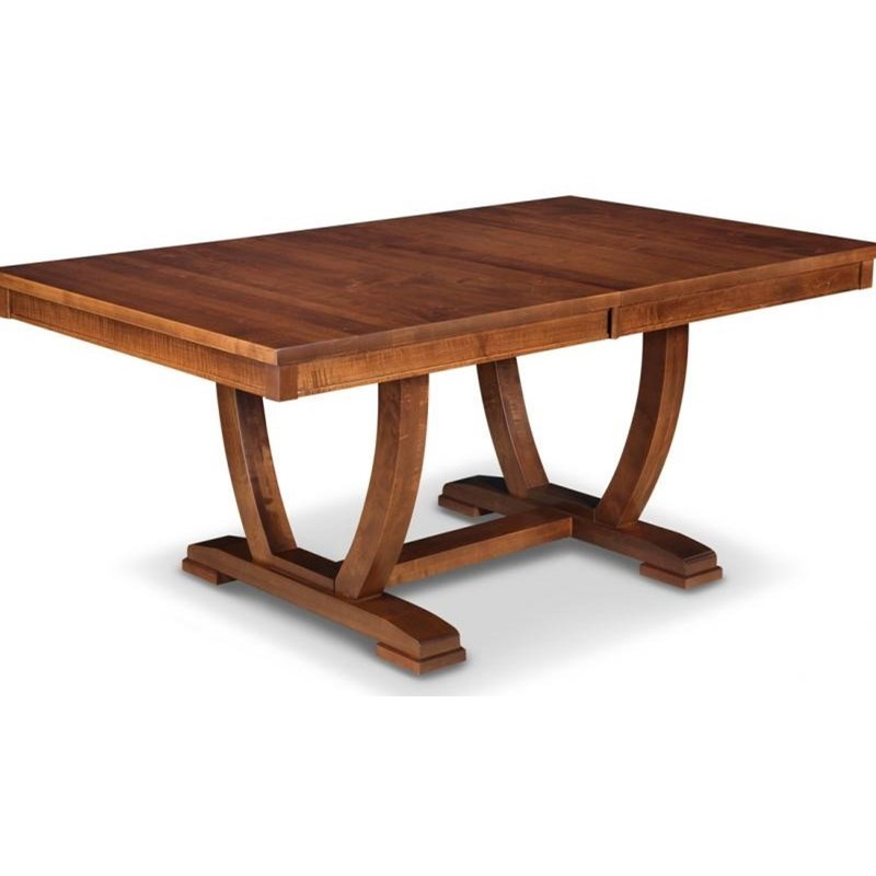 "Florence 42x72"" Solid Top Trestle Dining Table by Handstone at Stoney Creek Furniture"
