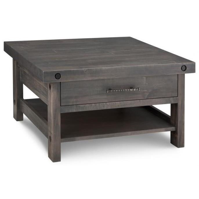 Rafters Coffee Table by Handstone at Jordan's Home Furnishings