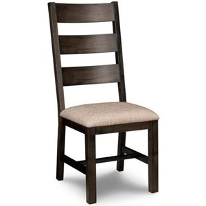 Side Chair in Fabric or Bonded Leather