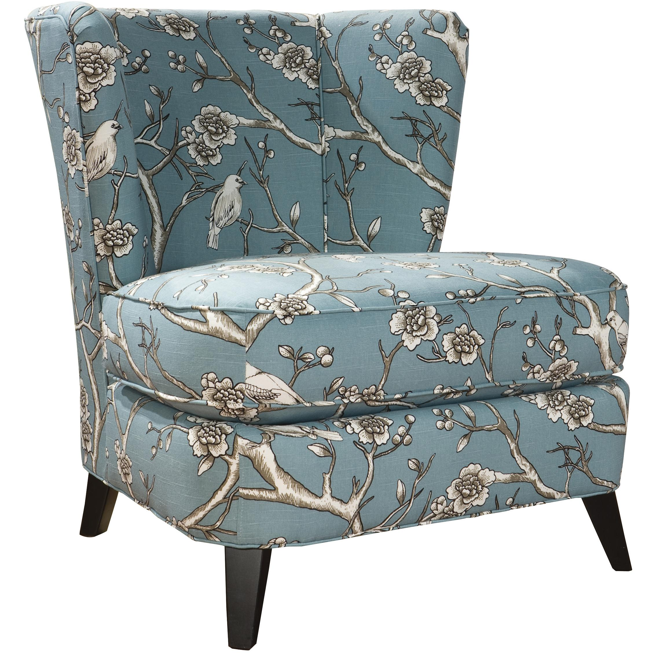 Tiara Contemporary Accent Chair by Hekman at Alison Craig Home Furnishings