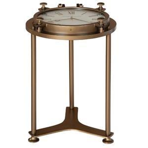 Porthole Clock Table