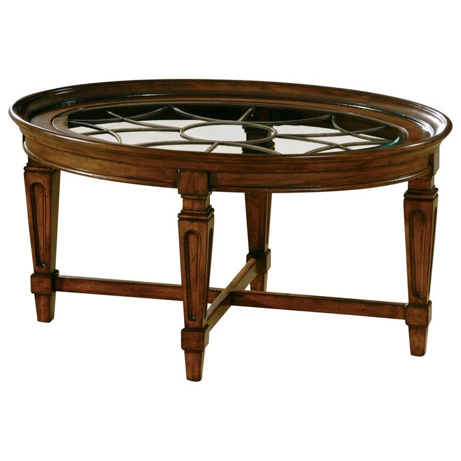 7282 Coffee Table by Hekman at Alison Craig Home Furnishings