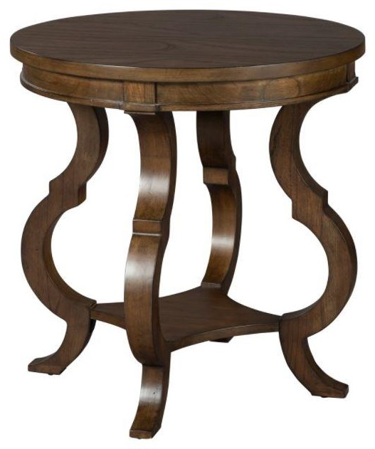 Accents and Occassional End Table by Hekman at Sprintz Furniture