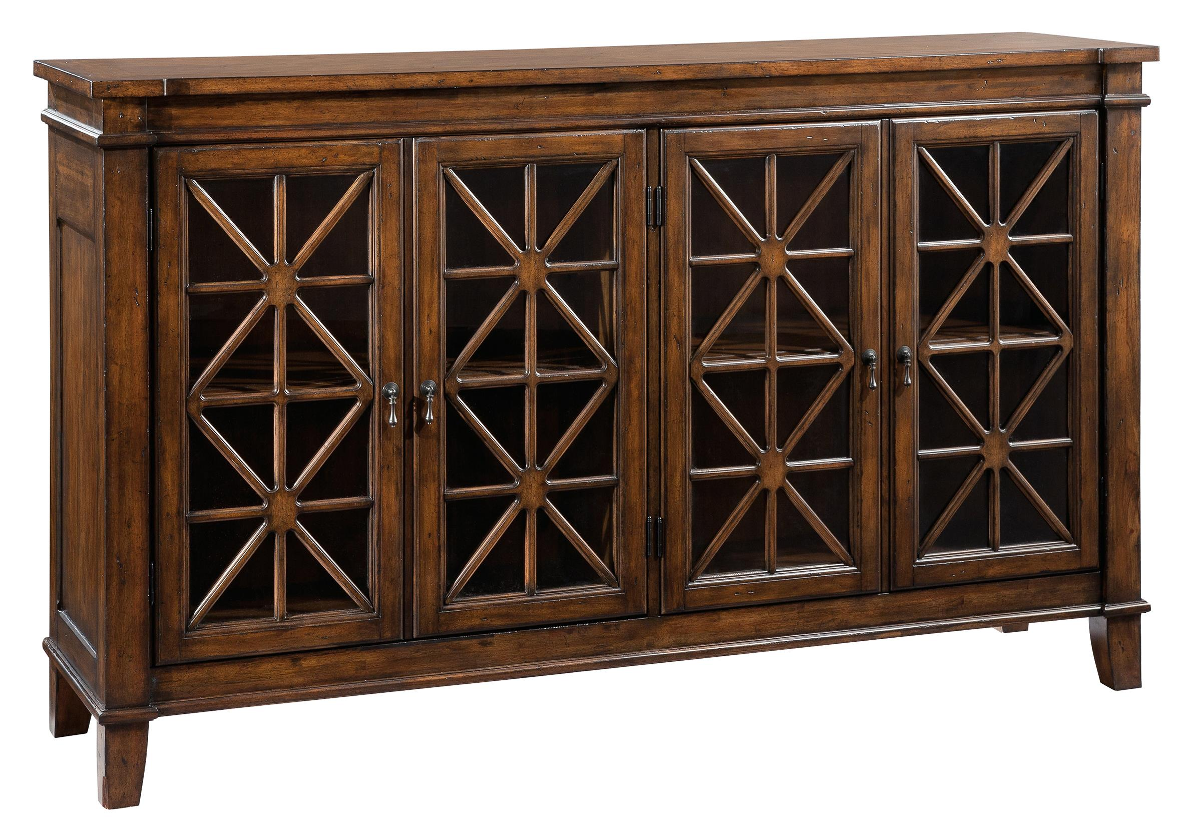 Accents and Occassional Traditional Entertainment Console by Hekman at Sprintz Furniture