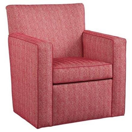 Ava Swivel Chair by Hekman at Alison Craig Home Furnishings