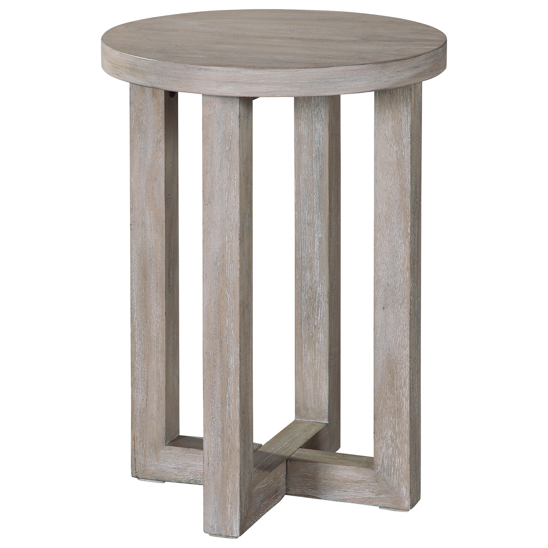 Berkeley Heights Round Chairside Table by Hekman at Alison Craig Home Furnishings