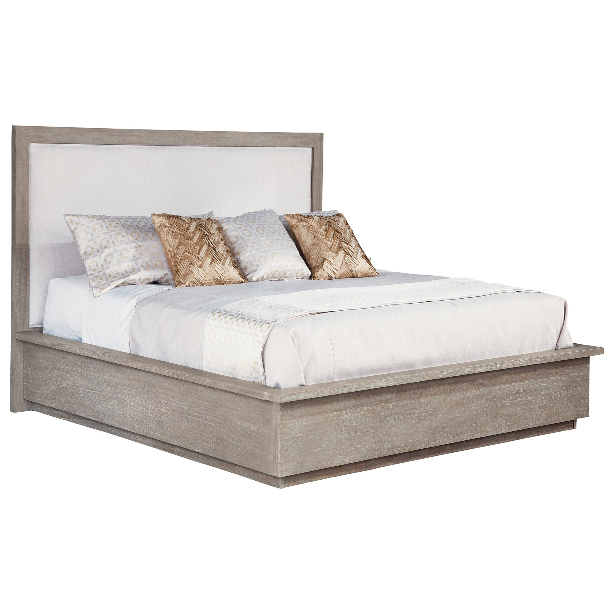 Berkeley Heights Upholstered Panel King Bed by Hekman at Alison Craig Home Furnishings