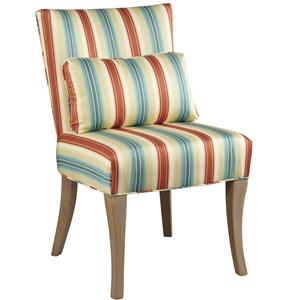 Brooke Side Chair with Tapered Legs