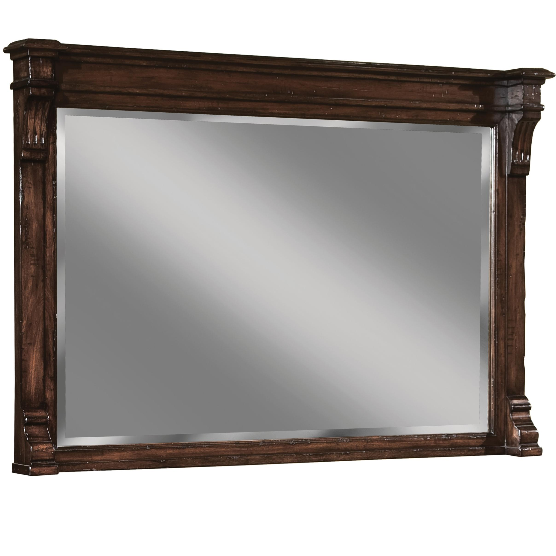 Charleston Place Mirror by Hekman at Alison Craig Home Furnishings