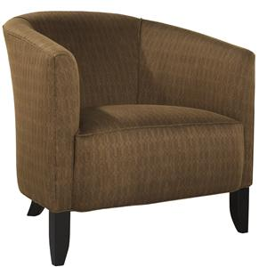 Traditional Nicolette Accent Chair with Tapered Legs
