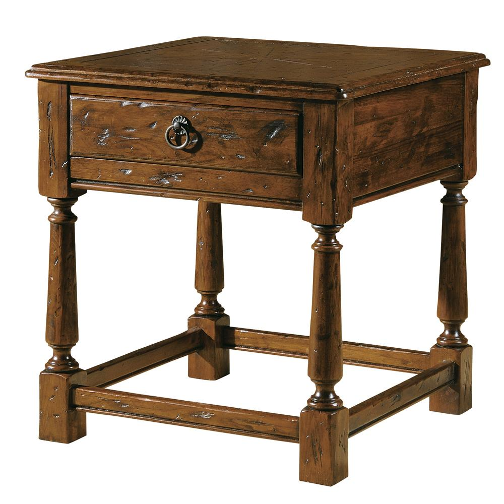 Rue de Bac Lamp End Table by Hekman at Alison Craig Home Furnishings