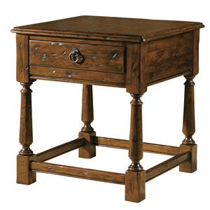 1-Drawer Lamp End Table