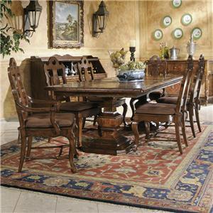Hekman Rue de Bac Rectangular Table & 6 Chair Set