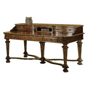 Executive Desk with Keyboard Drawer