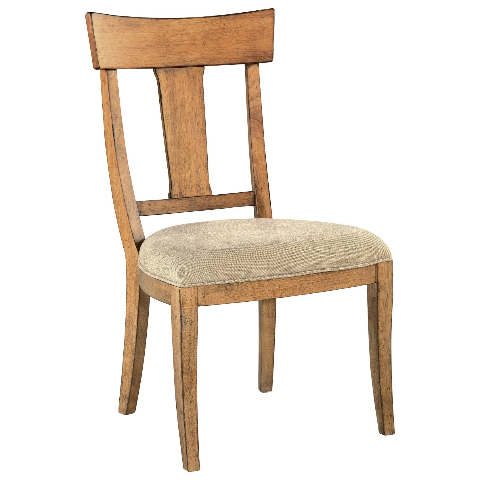 Wellington Hall Wood Back Side Chair by Hekman at Alison Craig Home Furnishings