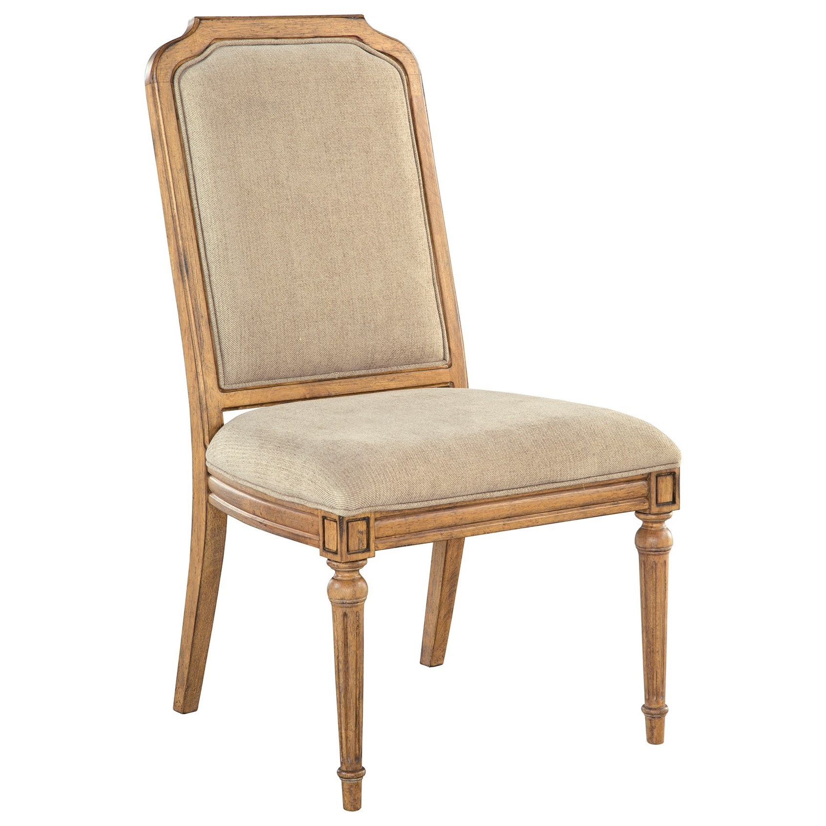 Wellington Hall Side Chair by Hekman at Alison Craig Home Furnishings