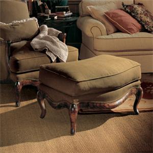 Henredon Henredon Upholstery Phillippe Ottoman