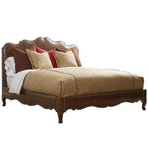 Henredon Leather Select Queen Upholstered Bed