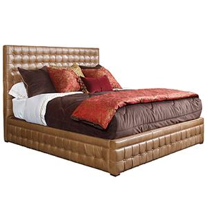 Henredon Leather Select Queen Bed