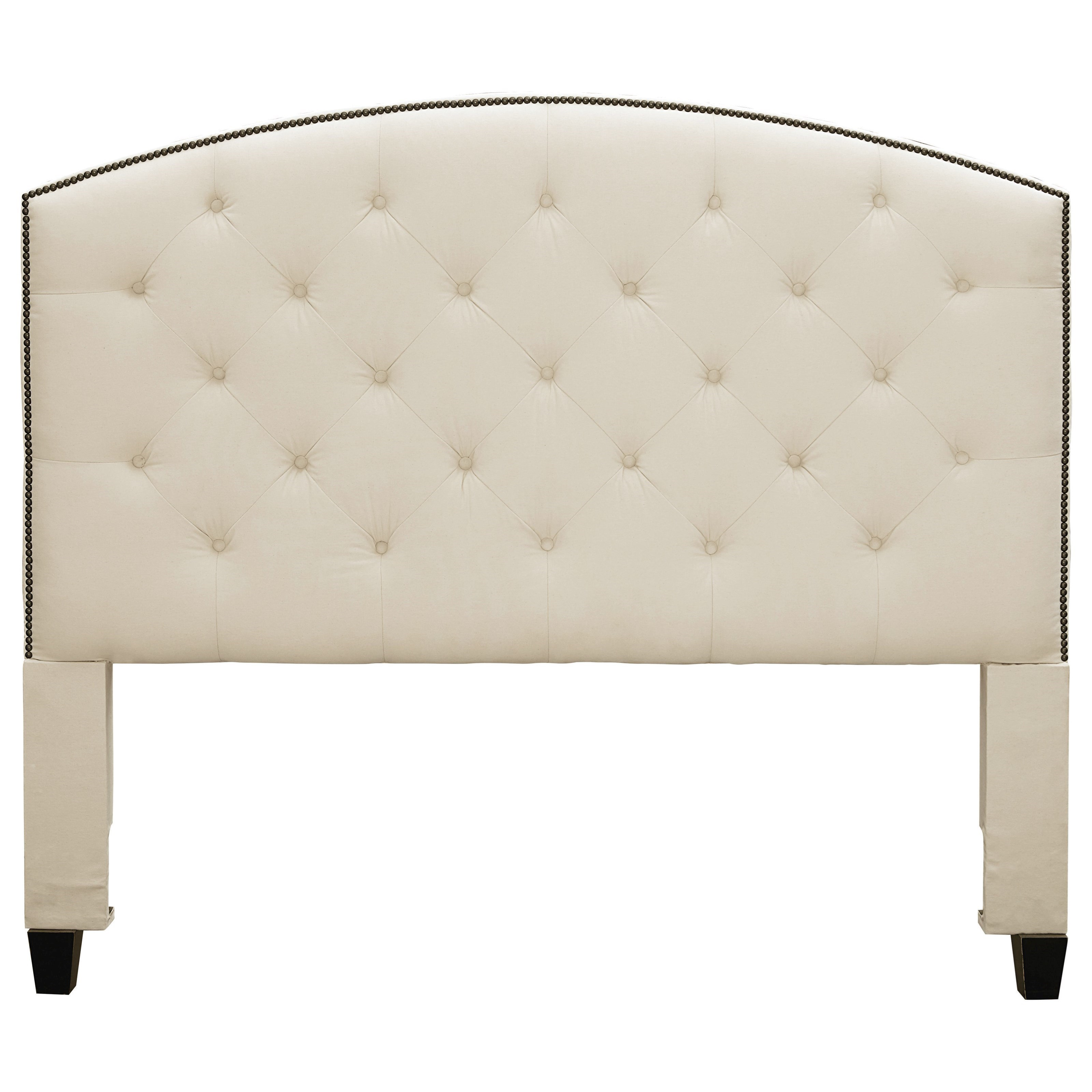 Savannah Upholstered Hdbd Twin by Bassett at Furniture Superstore - Rochester, MN
