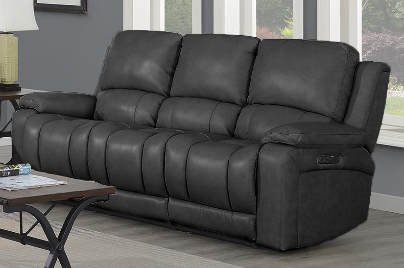Blaze Power Headrest & Lumbar Reclining Sofa by Highlife Furniture at Crowley Furniture & Mattress