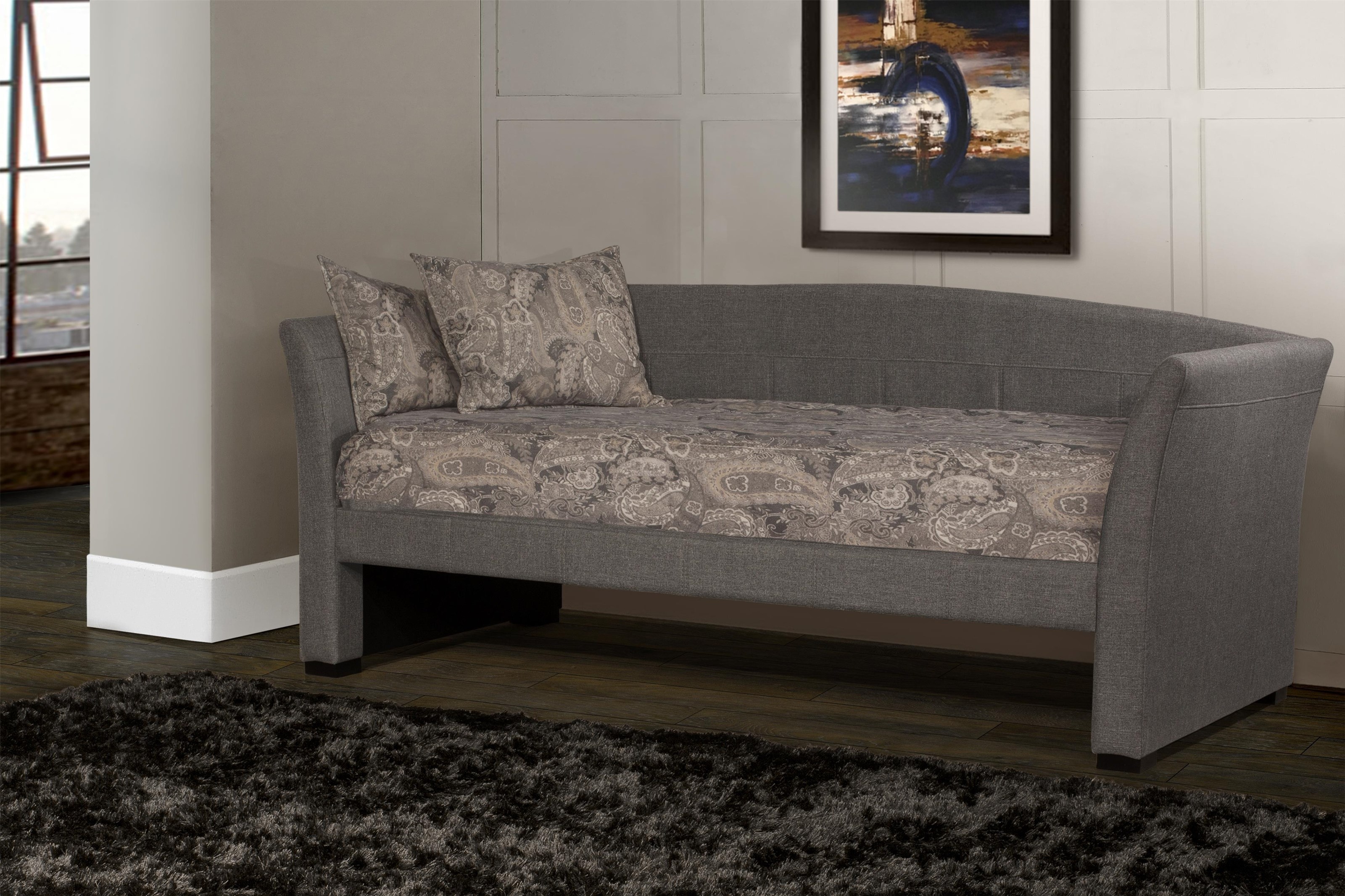 2411 Dove Gray Daybed by Hillsdale at Furniture Fair - North Carolina
