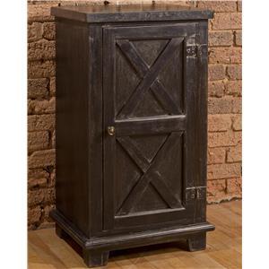 Hillsdale Accents X Design One Door Cabinet