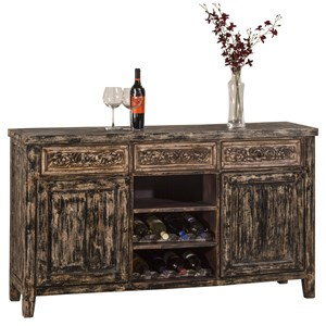 Hillsdale Accents Sofa Table with Two Door Storage